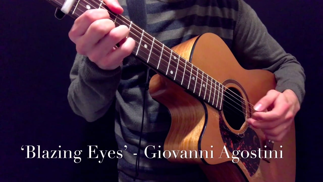 Blazing Eyes | Original Composition