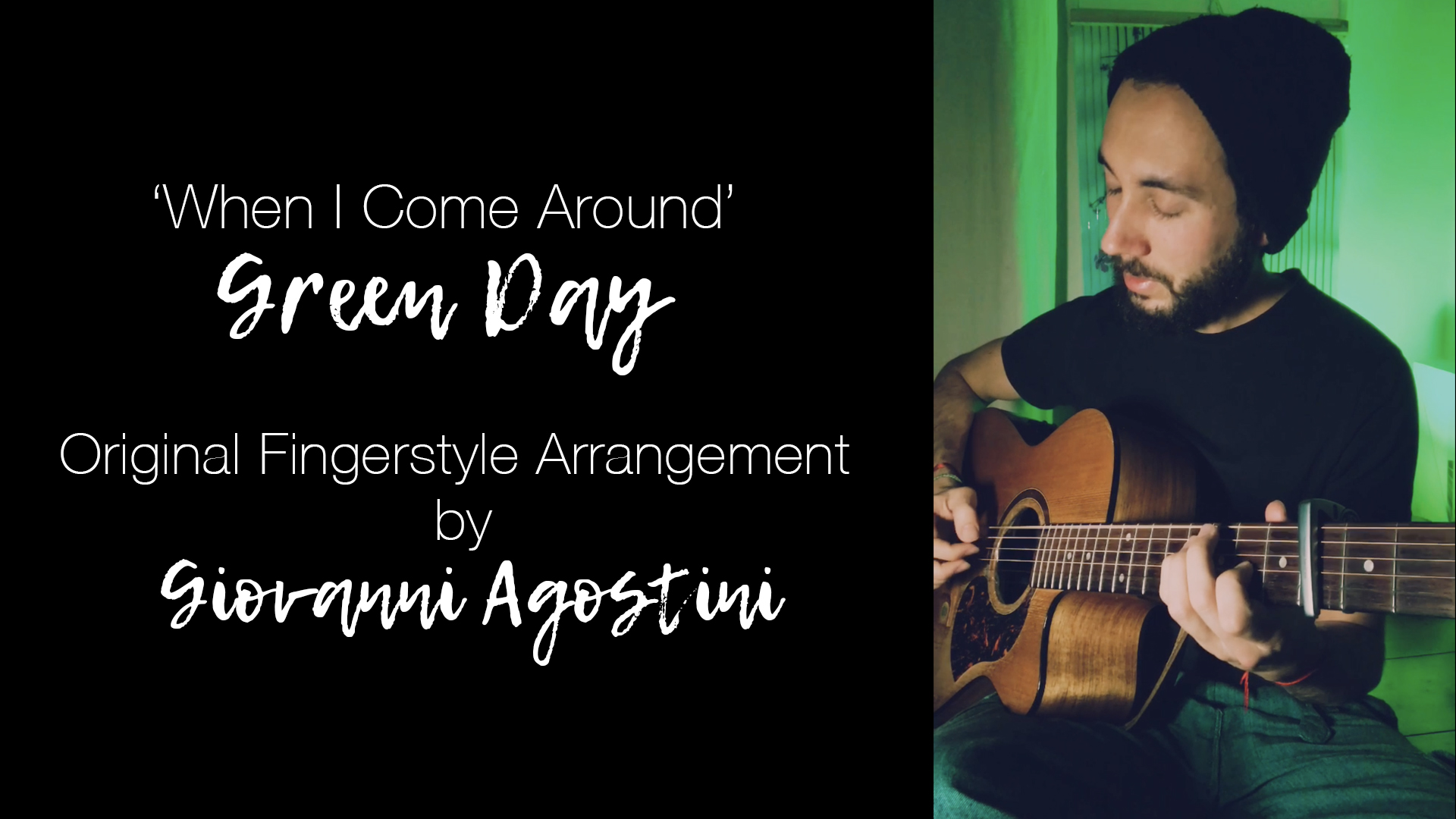 Green Day – When I Come Around | Original Fingerstyle Arrangement