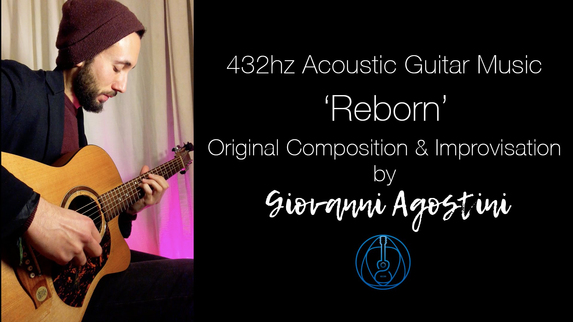 Reborn (live improvisation) | 432hz | Original Composition Idea