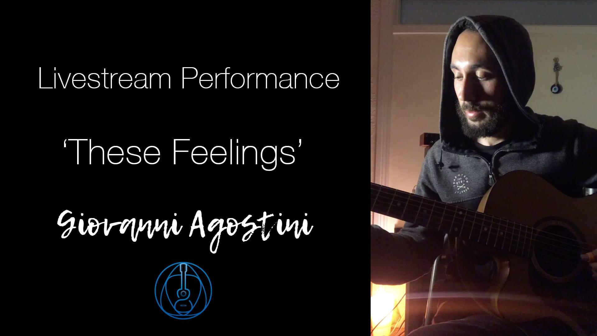 These Feelings | 432hz | Livestream Performance